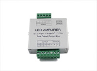 12V 24A 288W LED RGB Amplifier Controller Signal Amplifier for 3528/5050 SMD RGB LED Strip + free shipping