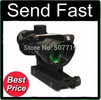 Tactical Hunting Shooting Trijicon ACOG 4x32 Riflescope (Red Optical Fiber) M7184