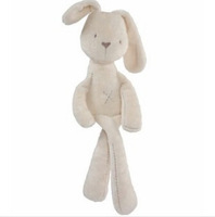 Toys-Millie & Boris - Soft Toy Millie British Aristocrat MaMas&papas Smooth Obedient Rabbit Baby Sleep Calm Plush Toys FH152