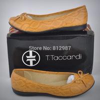 Free Shipping Retail 2014 New Fashion Women's Versatile Snake Grain Casual Pregnant/Driving  Flat  Shoes/