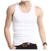 Summer  tank top men Cotton tank top undershirt For Men Vest