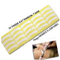 Wholesale 500pairs Individual Eyelash Extension Patch Supply Medical Tool Makeup Styling Eye Pad Freeshipping