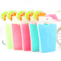 2014 New Victoria,s secret Summer Drink 3D Cocktail Cup Case Cover For HTC ONE M8 Secret Beverage Silicone Freeshipping