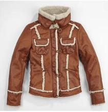 2014 fashion women  artificial fur one piece large lapel short design outerwear Women autumn and winter top(China (Mainland))