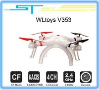 WLtoys V353 Galaxy Headless Mode 2.4G 4CH 6 Axis Gyro RC Quadcopter VS Drone Walkera X350 pro DJI Phantom 2 v battery helikopter