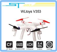 2014 New WLtoys V353 Galaxy Headless Mode 2.4G 4CH 6 Axis Gyro RC Quadcopter VS Drone Walkera X350 pro DJI Phantom 2 vision FPV