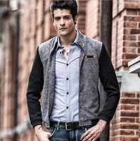 Wholesale Min 5pcs Fashion New autumn winter men's jacket,collar jacket ,Leisure coat,free shipping