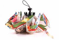 Popular nautical maps manaual folding umbrella, UV prevent waterproof windproof