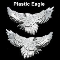 Free shipping 2pcs Eagle Style Car Decal Badge Sticker Emblem D.I.Y. Decoration car styling car sticker