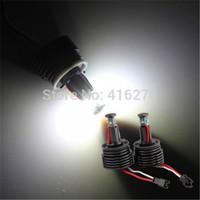 2pcs H8 20W LED CREE Angel Eye Light 6000K White for  E87 E92 E93 M3 X5 E70