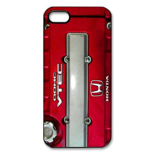 Free Shipping honda jdm dohc vtec engine Cover Case for Apple iPhone 5 and 5s Cases i phone 5
