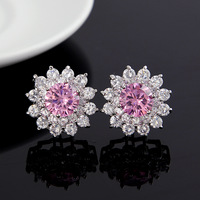 Top quality ,European style elegant earring Top AAA zircon earring female fashion and character earring