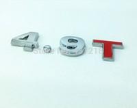 4.9T Turbo Metal Rear Trunk Emblem Badge Decal Sticker
