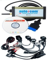 2014 Quality A FOR AUTOCOM CDP Pro for cars & trucks(Compact Diagnostic Partner) OKI CHIP with free shipping for full set cables