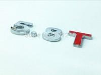 5.8T Turbo Metal Rear Trunk Emblem Badge Decal Sticker