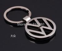 10pcs/lot, volkswagen car emblems Keychain Keyrings Key Chain Ring Key Fob volkswagen keychain