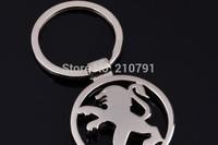 Peugeot car emblems Keychain Keyrings Key Chain Ring Key Fob ,Peugeot car keychain car key rings car key ring