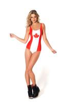 Canada Flag Swimwear