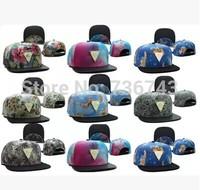 1 pc/lot 2014  Free Shipping Unisex hater Metal LOGO BBOY Snapback Hip Hop Cap Baseball Skateboard Hat YS9298