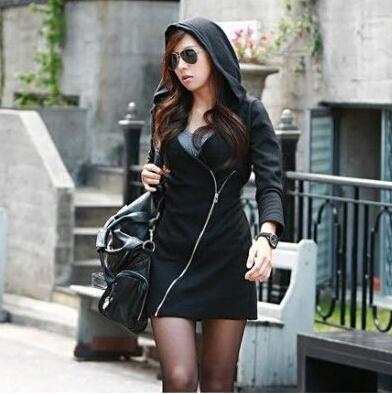 SGS HOT SALE new sport suit women hoody sweatshirts brand women clothes zipper winter women's costume dress free ship bk287 q9(China (Mainland))