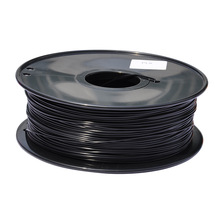 black color 3d printer filament PLA/ABS 1.75mm/3mm 1kg plastic Rubber Consumables Material MakerBot/RepRap/UP/Mendel