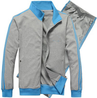 The new men's cotton knit cotton leisure suit collar