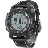 sapphire Titanium multifunctional sport climbing watch compass thermometer altimeter men leather relogio masculino digital watch