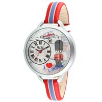 Lovely British Soldier Clay Watch Original Korean Brand Mini Real Leather Quartz Wristwatch Analog 30M Waterproof Clock NW839