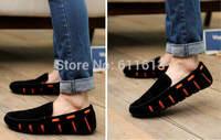 Summer net surface breathable doug shoes joker single driving low help shoes men's shoes