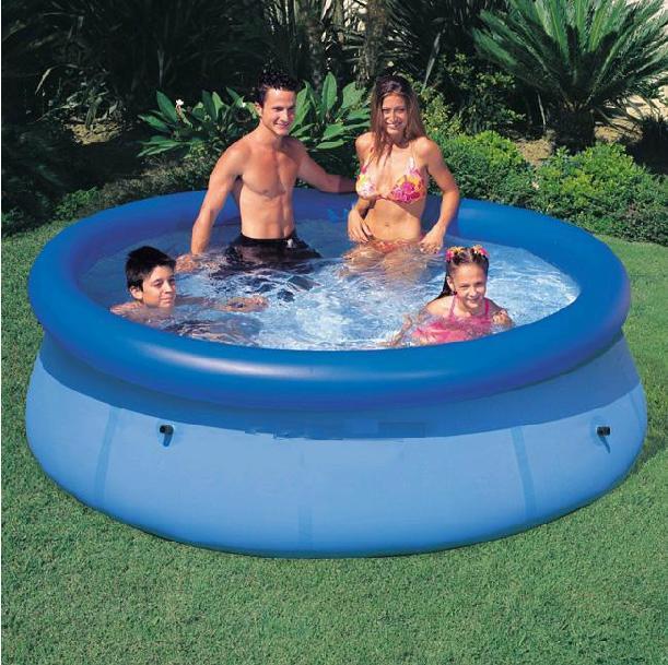 As novas 2.014 crianças piscina adulto família piscina tamanho adulto grande piscina inflável villa(China (Mainland))