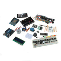 XD-219338 UNO R3 Starter Learning Singlechip Set Kit - Multicolored - (Works With Official Arduino Boards) Free Shipping