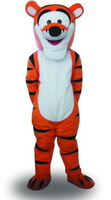 Wholesale Brand new Tigger Mascot Costume Cartoon Mascot Costume Character Costume Free Shipping