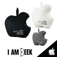 3 Pieces Set Steve Jobs 1955 - 2011 Anniversary Apple Decorative Throw Pillow, iOS iTunes Sofa Cushion,  iCushion Nanoparticle