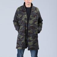 Men's raglan sleeve woolen overcoat