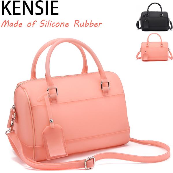 Original USA American Brand Silicone Rubber Jelly Color Super Quality Women's Cross-body Messenger Bucket Handbag Bags ZL593(China (Mainland))