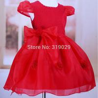 New Girls Tutu dress High quality Chiffon dresses Baby Wedding dress Bow Leisure Frocks Children clothing