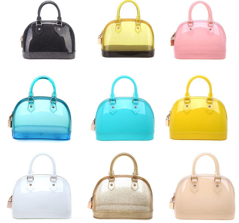 Girl Summer Candy Beach Bag Handbag Fashion Women Chic Jelly Candy Bag ...