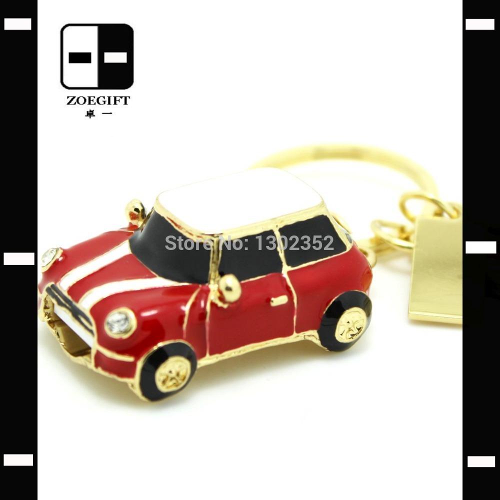 Jewellery Mini Car USB Flash Memory Stick Pen Drive 64GB,Promotional Gifts,Drop Free Shipping(China (Mainland))