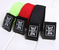 Hot sell 7 colors 2014 Men women Brand fashion Canvas Belts High Quality Male Strap Military Belt Men's Ticken Canvas Belt