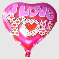 Wholesale helium balloon classic Valentine LOVE heart-shaped balloon supplies automatic film sealing