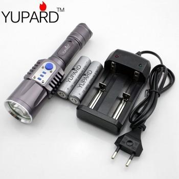 2000Lms кри XM-L2 T6 из светодиодов фонарик фонарь USB интеллектуальный фонарик зарядное ...