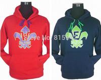 Men's Brands Fashion Sport Winter 2014 ALL STAR Basketball Hoodies Sweatshirts Thick 100% COTTON