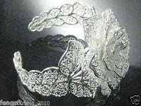New tibet silver peony flower Lovely bangle bracelet