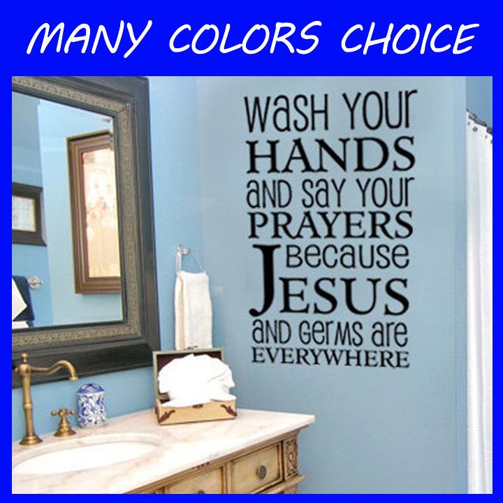 Online Get Cheap Bathroom Wall Sayings