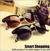 New 2014 Fashion retro vintage Coating Sunglasses Brand Designer Men Women Sun Glasses Oculos De Sol Gafas wholesale 100pcs/lot