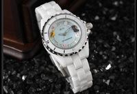 Luxury 100% Ceramic Women Dress Watch Original Brand Mini Clay Quartz Wristwatch Natural Shell Dial,Sapphire Crystal 3ATM NW861