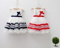 Hot retail summer children  girls lace + Mesh princess Dress ! Ball gown dress . free shipping