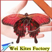 free shipping high quality  traditional handmade kite mini butterfly kite 5pcs/lot with handle line easy flying outdoor toys wei