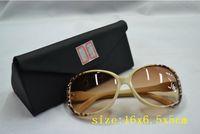 2014 the new arrival, triangle folding glasses box, glasses case, sunglasses box