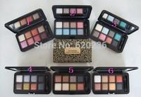 HOT Makeup Eyeshadow leopard 8 Color Eye Shadow Palette 6 Color 24g 60pcs/lot
